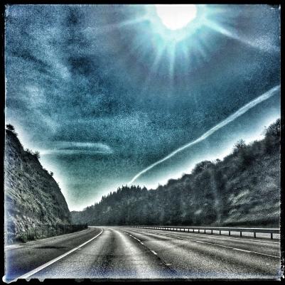 M40 Motorway...empty Day 18 Lockdown
