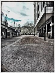 Cherry Street, Birmingham. Day 8 Lockdown