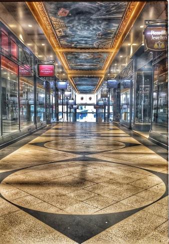 Piccadily Arcade, Birmingham Day 28 Lockdown