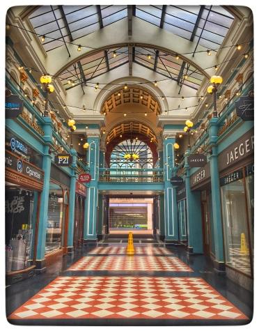 Great Western Arcade, Birmingham. Day 11 Lockdown